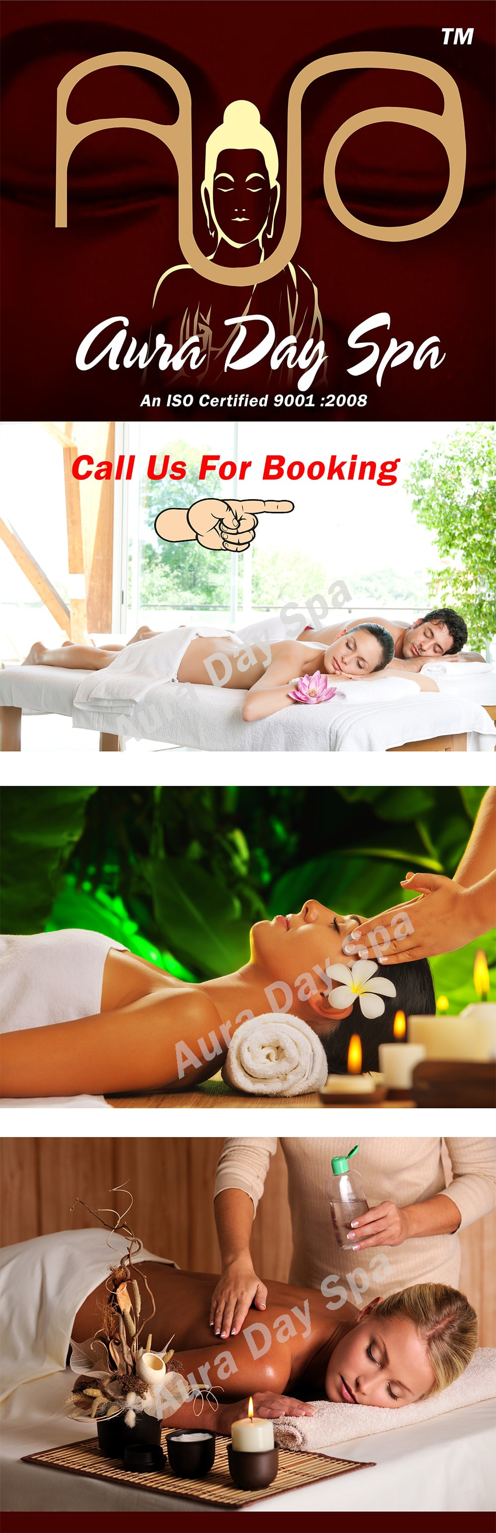 Aura Day Spa - Contact Us